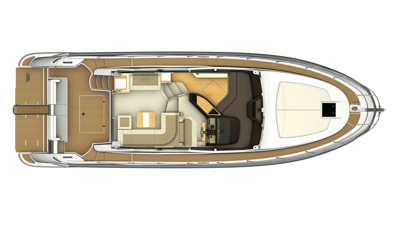 Azimut 45 cs yachting for Innenarchitekt yacht