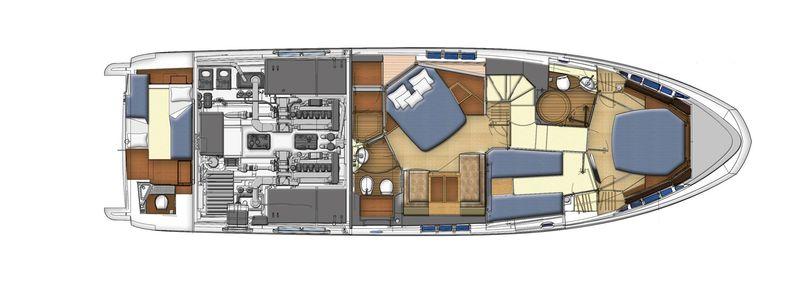 Azimut 60 cs yachting for Innenarchitekt yacht