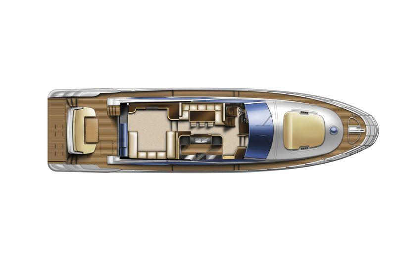 Azimut 70 cs yachting for Innenarchitekt yacht