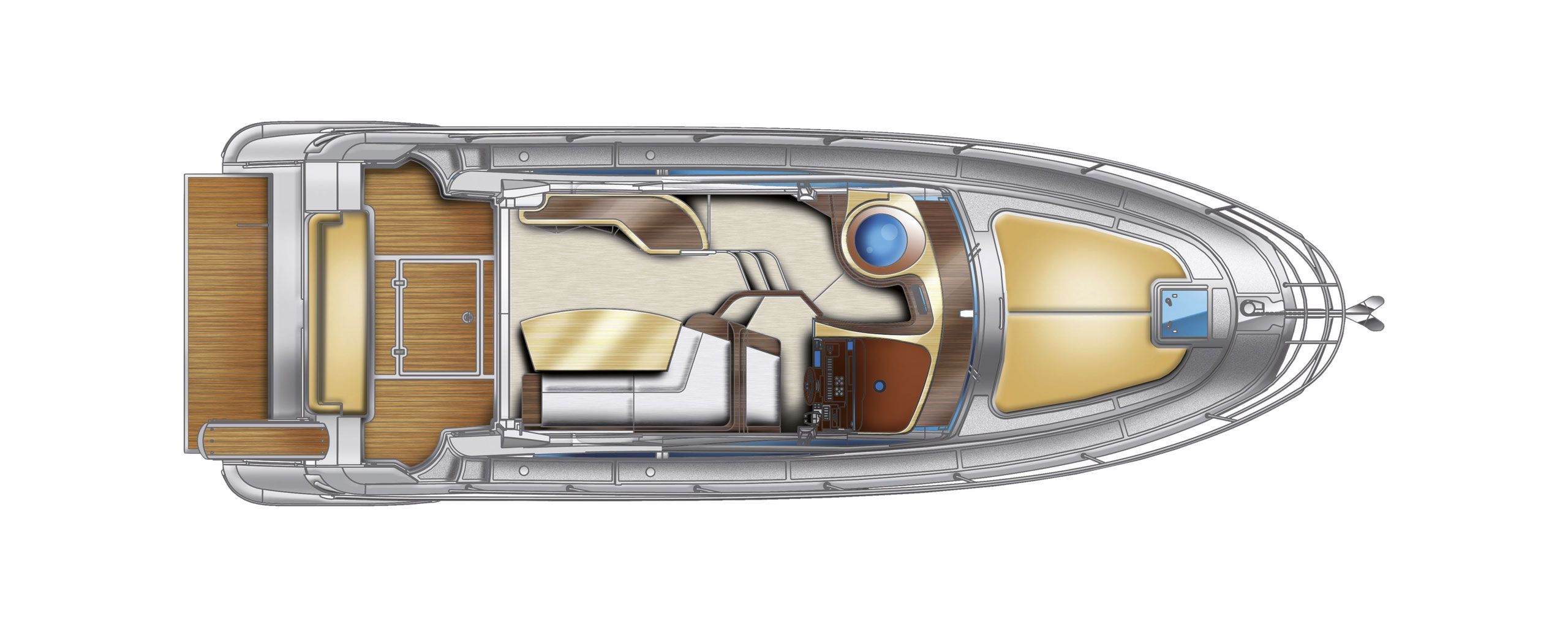 Azimut 40 s cs yachting for Innenarchitekt yacht