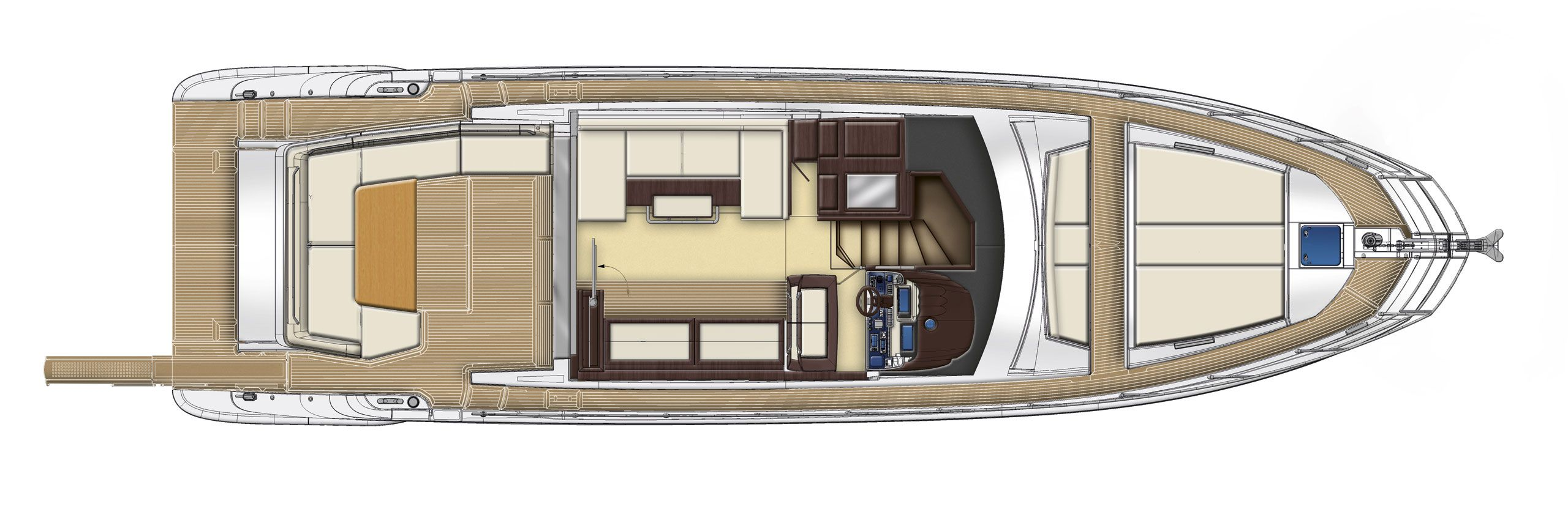 Azimut 55 s cs yachting for Innenarchitekt yacht