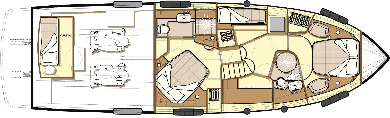 Azimut magellano 53 cs yachting for Innenarchitekt yacht