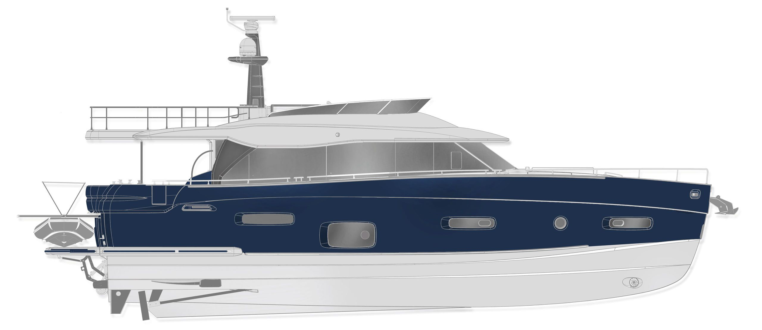 Azimut magellano 66 cs yachting for Innenarchitekt yacht
